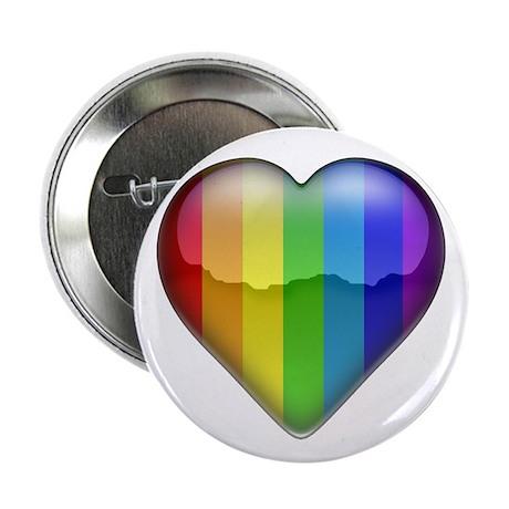 Rainbow Heart 1 Button