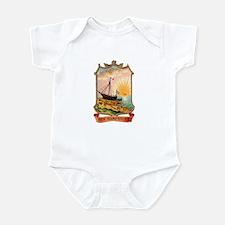 New Hampshire Coat of Arms Infant Bodysuit