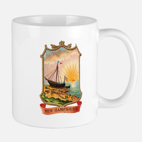 New Hampshire Coat of Arms Mug