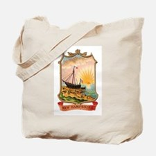 New Hampshire Coat of Arms Tote Bag