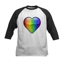 Rainbow Heart 2 Tee