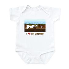 Love Cartoon Earthdog Infant Bodysuit