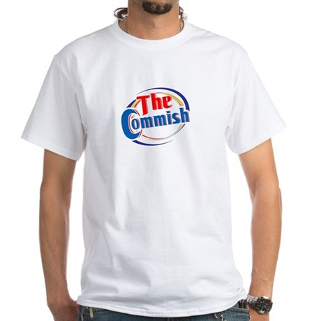 The Commish White T-Shirt