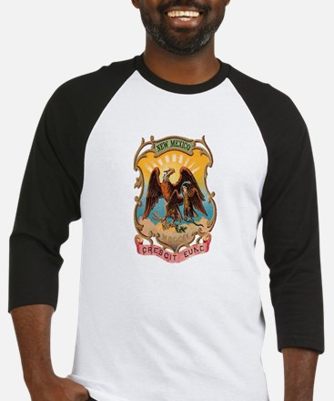 New Mexico Coat of Arms Baseball Jersey
