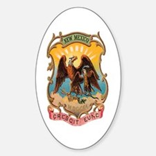 New Mexico Coat of Arms Oval Decal
