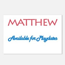 Matthew - Available for Playd Postcards (Package o