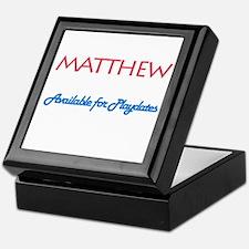 Matthew - Available for Playd Keepsake Box