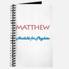 Matthew - Available for Playd Journal