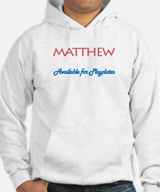 Matthew - Available for Playd Hoodie