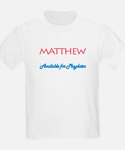 Matthew - Available for Playd T-Shirt