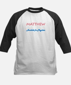 Matthew - Available for Playd Tee