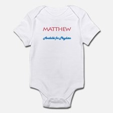 Matthew - Available for Playd Infant Bodysuit