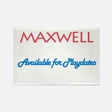 Maxwell - Available for Playd Rectangle Magnet (10