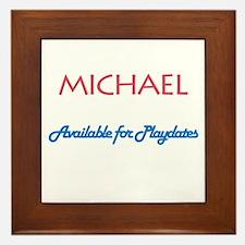 Michael - Available for Playd Framed Tile