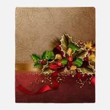 Christmas Decor Throw Blanket
