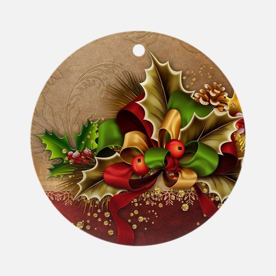 Christmas Decor Round Ornament