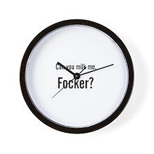 Can You Milk Me, Focker? Wall Clock