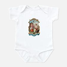 North Carolina Coat of Arms Infant Bodysuit