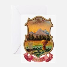 Ohio Coat of Arms Greeting Card