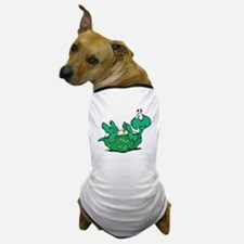 Scared Little Turtle Dog T-Shirt