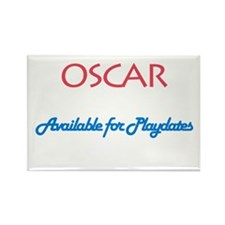 Oscar - Available for Playdat Rectangle Magnet (10