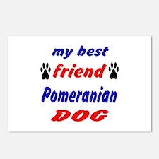 My Best Friend Pomeranian Postcards (Package of 8)