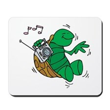 Rockin' Music Turtle Mousepad