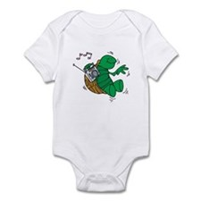 Rockin' Music Turtle Infant Bodysuit