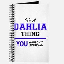 It's DAHLIA thing, you wouldn't understand Journal
