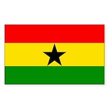 Ghana Rectangle Decal