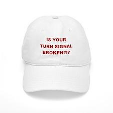 Turn Signal Stacked Baseball Cap