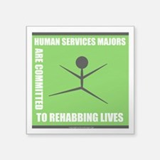 Human Services Majors Are Committed To Sticker