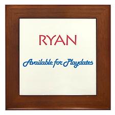 Ryan - Available for Playdate Framed Tile