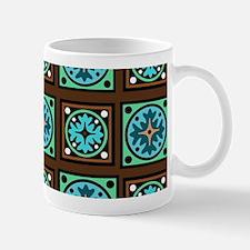 Amish Textile Print Mugs