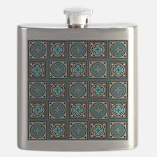Best Blues Quilt Design Flask