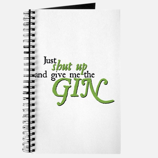 Just Give Me The Gin Journal