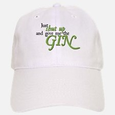 Just Give Me The Gin Baseball Baseball Cap