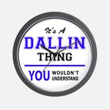 It's DALLIN thing, you wouldn't underst Wall Clock
