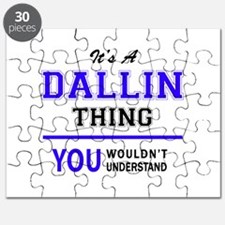 It's DALLIN thing, you wouldn't understand Puzzle