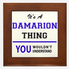 It's DAMARION thing, you wouldn't unde Framed Tile