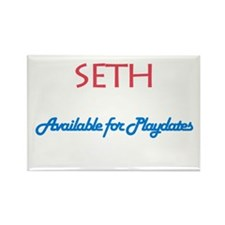 Seth - Available for Playdate Rectangle Magnet (10