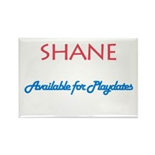 Shane - Available for Playdat Rectangle Magnet (10