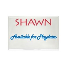 Shawn - Available for Playdat Rectangle Magnet (10