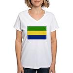 Gabon Women's V-Neck T-Shirt