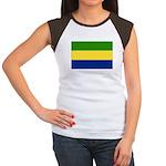 Gabon Women's Cap Sleeve T-Shirt