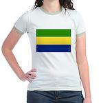 Gabon Jr. Ringer T-Shirt