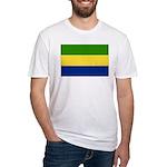 Gabon Fitted T-Shirt