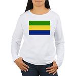 Gabon Women's Long Sleeve T-Shirt