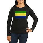 Gabon Women's Long Sleeve Dark T-Shirt