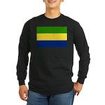 Gabon Long Sleeve Dark T-Shirt